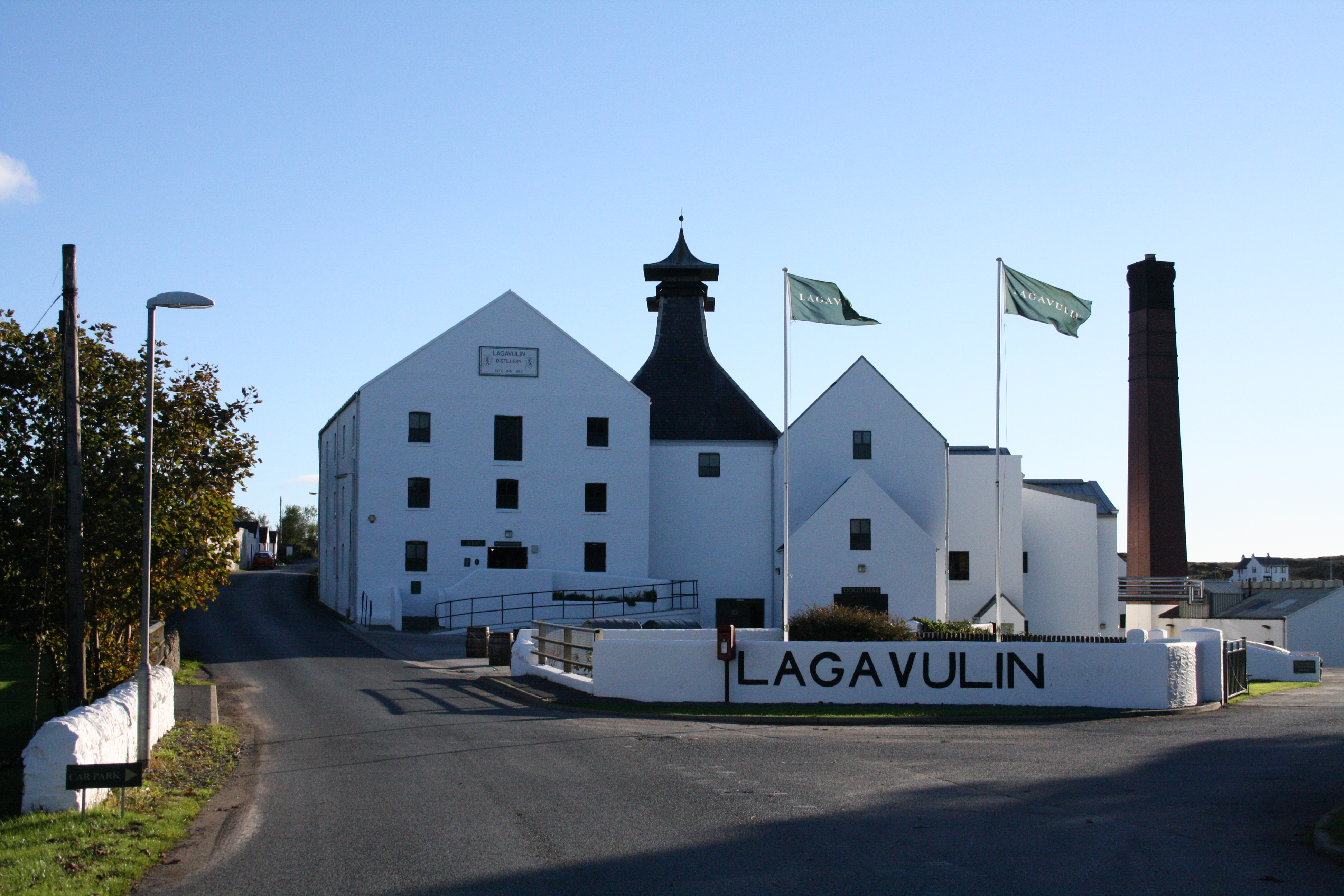 Scotland distillery. Lagavulin